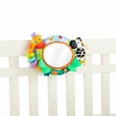 Bright Starts 9252 Singing Safari Crib Mirror Ay