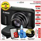 Canon Powershot SX260 HS 12.1 MP 20x Zoom