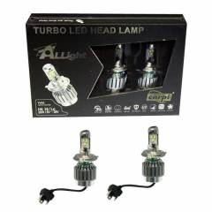 TURBO FANLI LED AMPUL H4 H/L 30W 6000K  SUPER BE