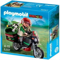 Playmobil 5237 motosiklet ile ke�if