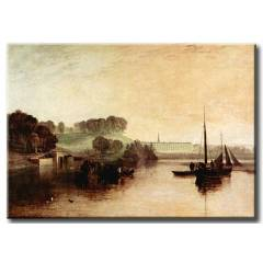 �ER�EVEL� KANVAS TABLO 21906 WILLIAM TURNER 05