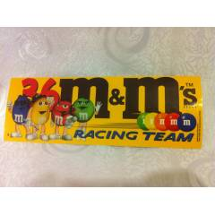 m&m NASCAR Racing Team Sticker Etiket