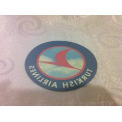TURKISH AIRLINES Havayollar� Sticker Etiket