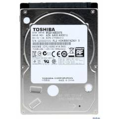 Toshiba 750 GB 5400 rpm SATA Notebook Harddisk