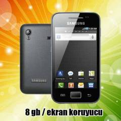 SAMSUNG GALAXY ACE 5830  ANDRO�D W�F� 5 MP SIFIR