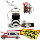 S�ZGE�L� �AY VE KAHVE KUPASI FRENCH PRESS