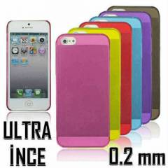 iPHONE 5 KILIF S�PER �NCE 0.02 MM �OK F�YAT