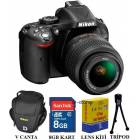 Nikon D5200 18-55mm VR 24.1MP Foto�raf Makinesi
