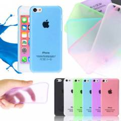 iPhone 5c K�l�f Ultra ince 0.02mm OZAKI DESING