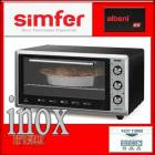 Simfer Albeni 4207 Inox POP-UP D��ME Turbo F�r�n