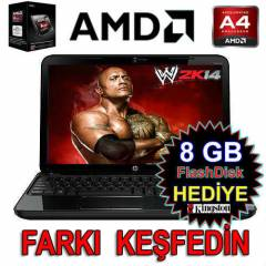 � HP Laptop PAVILION AMD 4GB 500GB 1GB EK 15.6