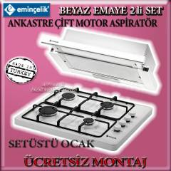 Emin�elik do�algazl� set �st� ocak Aspirat�r set
