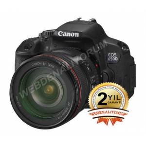 Canon EOS 650D 24-105mm Rebel T4i �OK F�YAT