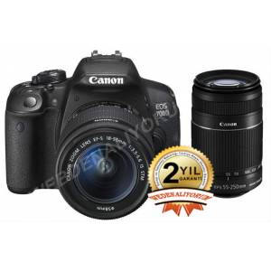 Canon  700D 18-55mm 55-250mm Rebel T5i �OK F�YAT