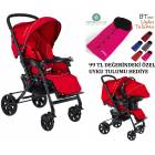 Beneto Leone Travel Set L�x Bebek Arabas� Puset