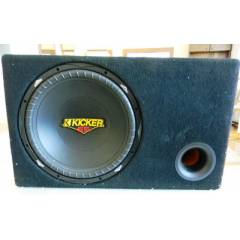 Kicker ES 38 cm Subwofer ve Hertz EV 165 + EV130