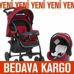 CHICCO DUO TODAY TRAVEL S�S.BEBEK ARABASI RED