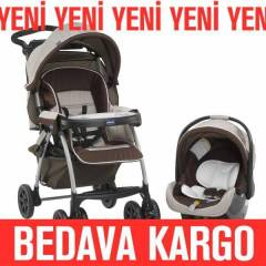 CHICCO DUO TRAVEL BEBEK ARABASI TODAY BROWN