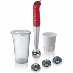 MOULINEX RED RUBY HAPTO CL�CK-M�X BLENDER