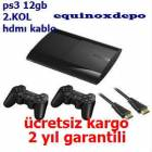 PLAYSTAT�ON 3 PS3 12GB + 2.KOL jet kargo