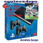 PS3 12 GB ULTRA SL�M +PES 2013+2.KOL+HDMI SONY