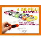 4 GB MP3 �ALAR MP3 PLAYER RADYOLU P�LL� 020
