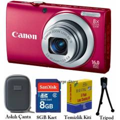 CANON A4000IS 16 MP HD 8x Foto�raf Makines Pembe