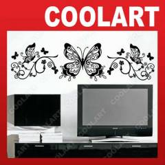 COOLART Duvar Sticker Sarma��k ve Kelebek st615