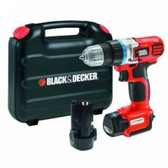 Black&Decker 10.8V �arjl� Matkap