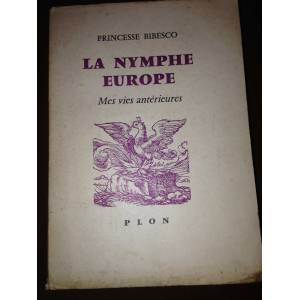La Nymphe Europe Pricesse Bibesco 1960