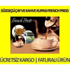 S�zge�li �ay ve Kahve Kupas� French Press