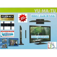 "Yumatu 20"" (51cm) Full HD ,Usb Led  TV +ASKI"