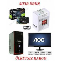 20 LED+AMD 4 �EK�RDEK 3,7 GHZ.+4 GB RAM+500 GB