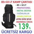 85 + 10 Lt Outdoor Da�c� B�y�k Boy S�rt �anta