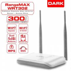 Dark RangeMax WRT302 300Mbit 2x5dBi Access Point