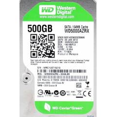 Western Digital Caviar Green 500 GB 64MB SATA3