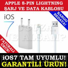 iPHONE 5S iPAD M�N� 2 USB �ARJ �ARZ KABLO SET�