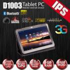 "ARTES D1003 3G 10.1"" IPS 1GB RAM BT 16GB TABLET"