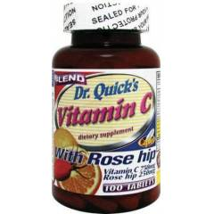 Dr. Quicks  V�TAM�N C  WITH ROSE H�P 100 TABLE