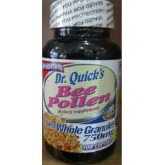 Dr. Quicks Bee Pollen 750mg 100kp �CRETS�Z KARGO