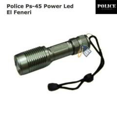 Police Ps-45 Cree T6 Led +Zoom �arjl� El Feneri