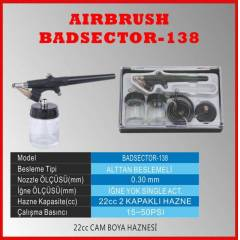 SINGLE ACTION AIRBRUSH BADSECTOR 138