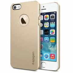SPIGEN iPhone 5S KILIF ULTRATHIN AIR A CHAMPAGNE