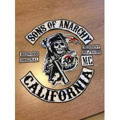 SONS OF ANARCHY PATCH SET