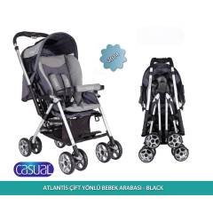 Casual Atlantis Bebek Arabas� Black
