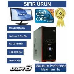 19 LED+�3 +4 GB RAM+2 GB HAR�C� E/K+500 GB HDD
