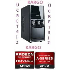 AMD A4 4000 3,2X2+4GB RAM+1TB HDD+2GB EK.KARTI
