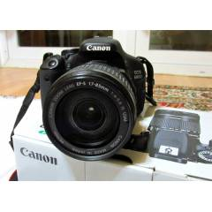 CANON 600D+17-85 USM LENS MADE IN JAPAN- 2.EL