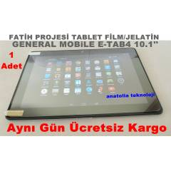 General Mobile E-Tab 4 Tablet Film Ekran Koruma