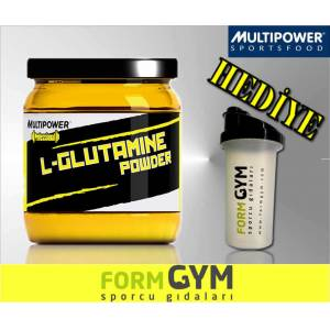 Multipower L-Glutamine %100 Pure 300 gr + HED�YE